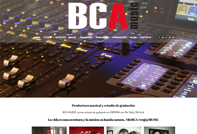 Productora BCA Music